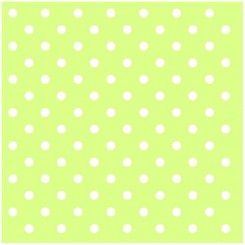 Ubrousky Ambiente Dots Green 33x33 cm