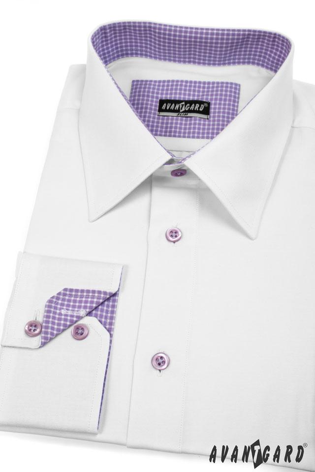 Pánská košile AVANTGARD SLIM dl. ruk. 728526e7e6