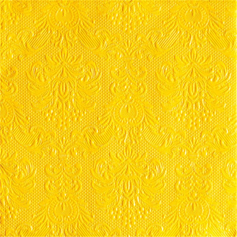 Ubrousky Ambiente Yellow 33x33 cm