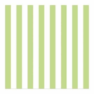 Ubrousky Ambiente Stripes Green 33x33 cm