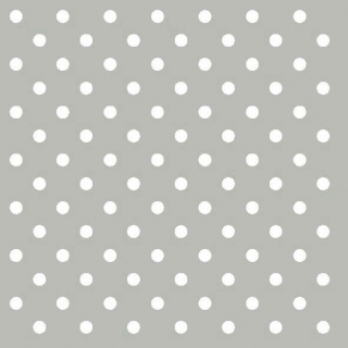 Ubrousky Ambiente Dots Grey 33x33cm