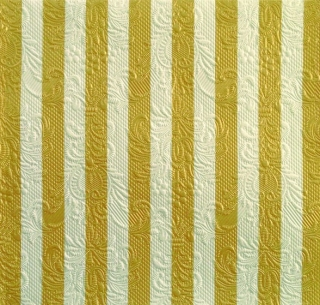 Ubrousky Ambiente Stripes Gold 33x33 cm